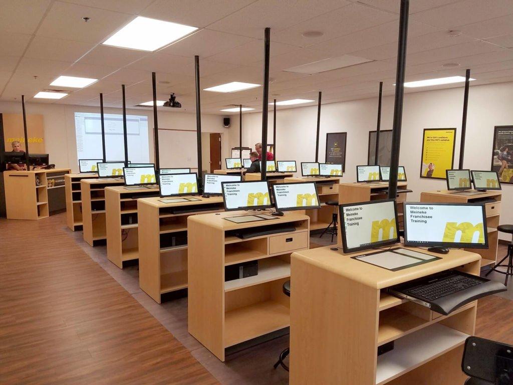 retail display companies Meinke Training Center